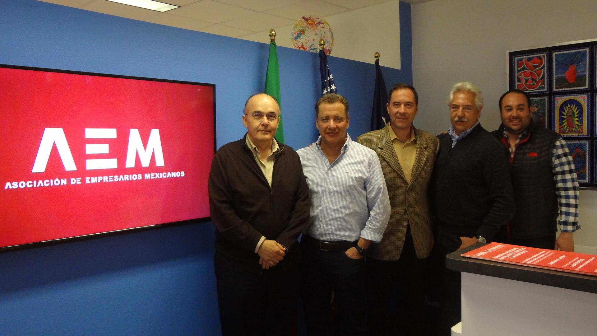 Reunión AMCDPE y Asociación de Empresarios Mexicanos (AEM)