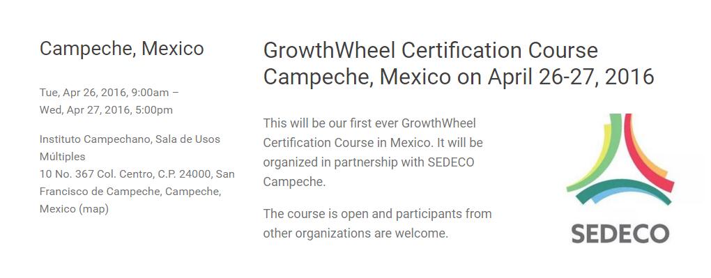Certificación GrowthWheel