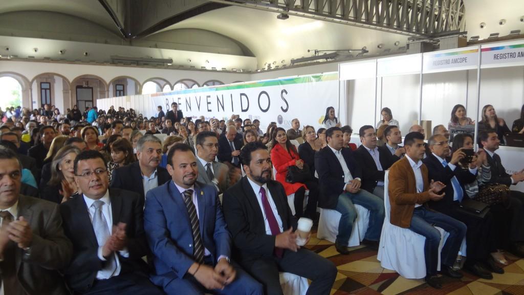Inauguración 17a Conferencia AMCDPE